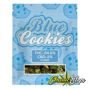 Blue Cookies Mylar Bags