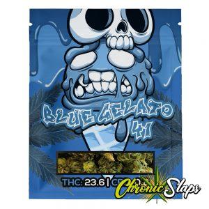 Blue Gelato 41 Mylar Bags