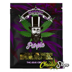 Grandaddy Purple Mylar Bags