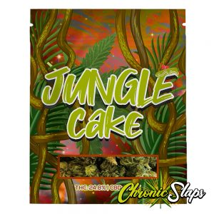 Jungle Cake Mylar Bags