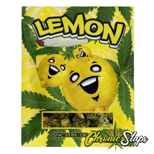 Lemon Mylar Bags