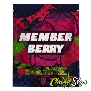 Member Berry Mylar Bags