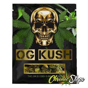 OG Kush Mylar Bags
