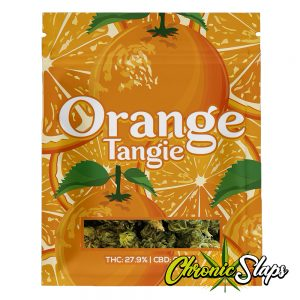 Orange Tangie Mylar Bags
