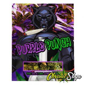 Purple Punch Mylar Bags