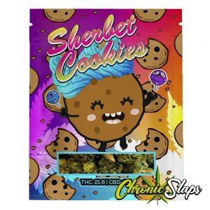 Sherbet Cookies Mylar Bags