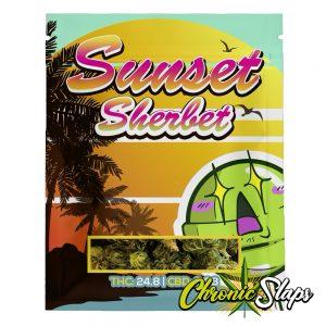 Sunset Sherbet Mylar Bags