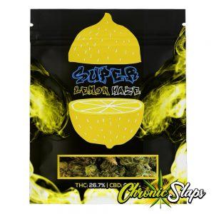 Super Lemon Haze Mylar Bags