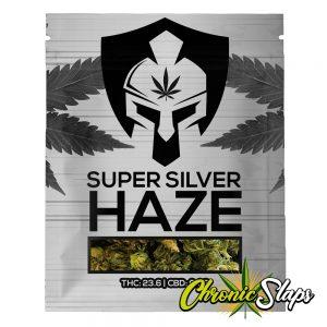 Super Silver Haze Mylar Bags
