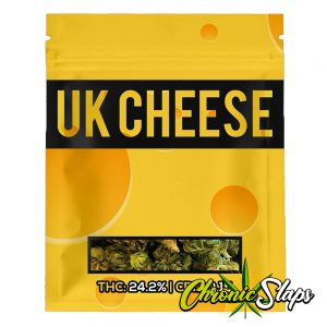 UK CHEESE Mylar Bags