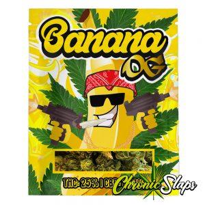 Banana OG Mylar Bags