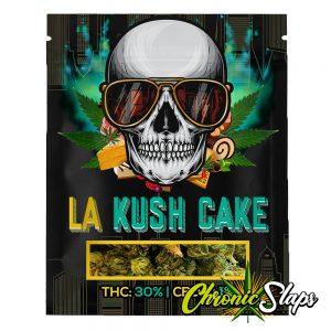 LA Kush Cake Mylar Bags