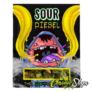 Sour Diesel Mylar Bags